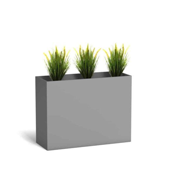 vabo raumteiler planters cube lichtgrau