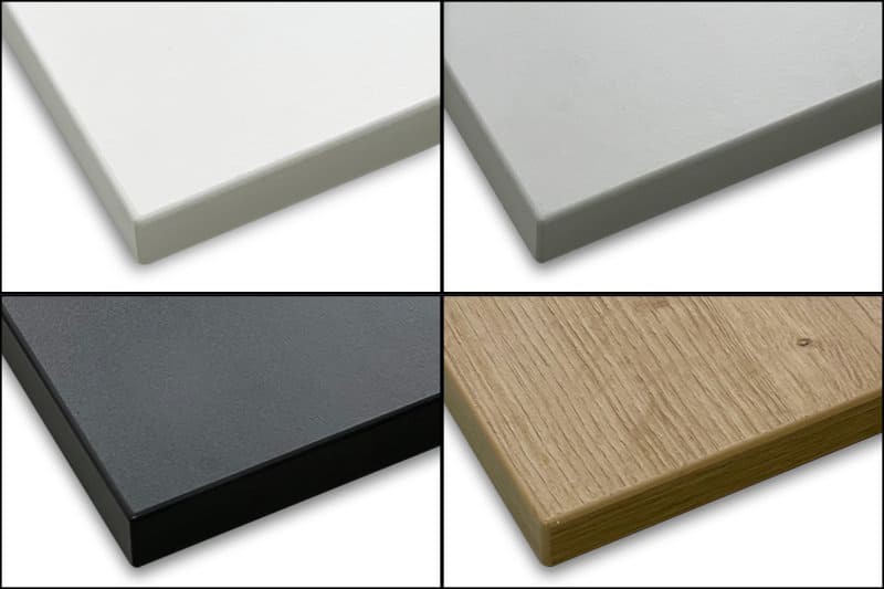 Melaminbeschichtung Vabo Tischplatte