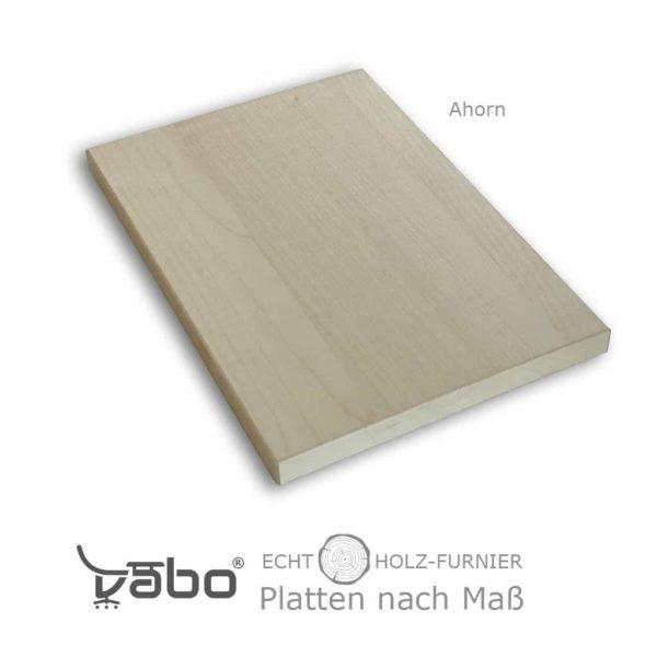 echtholz platte maß ohne ahorn