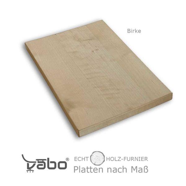 echtholz platte maß ohne birke