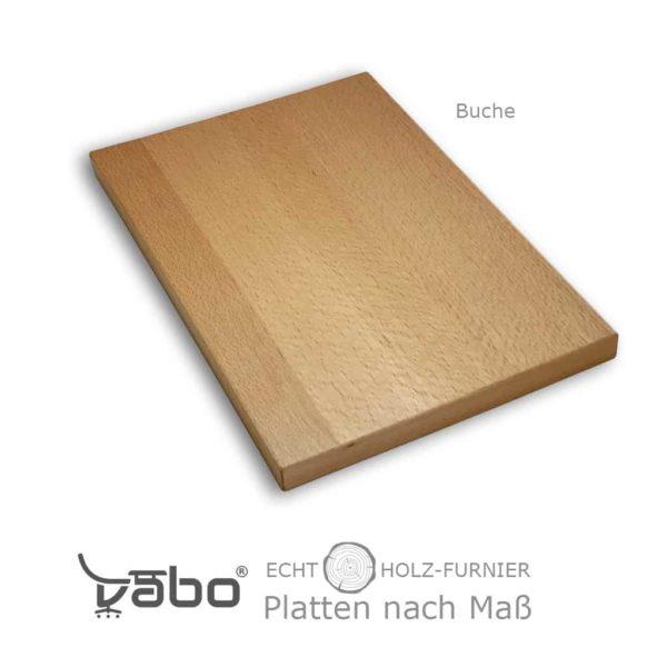 echtholz platte maß ohne buche