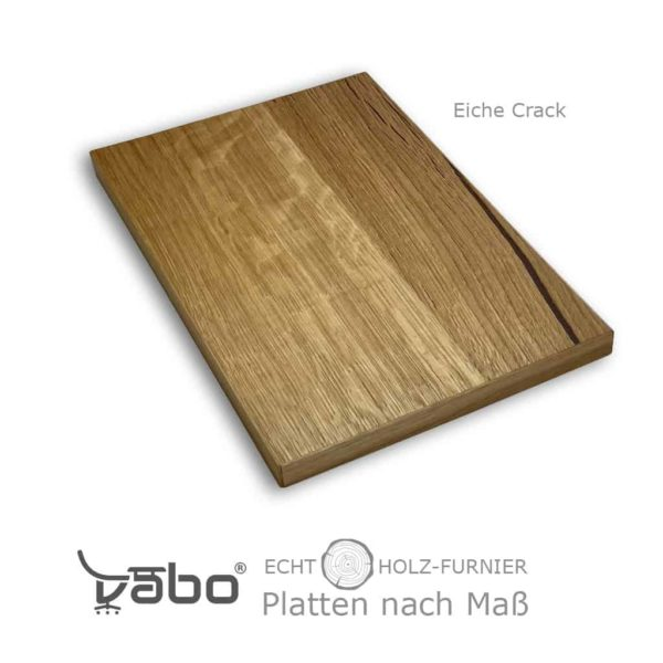 echtholz platte maß ohne eiche crack