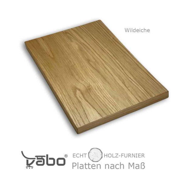echtholz platte maß ohne wildeiche