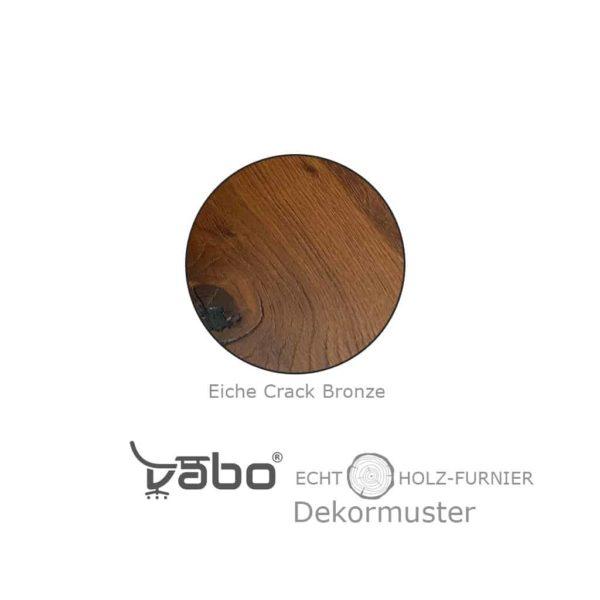 echtholz eiche crack bronze furnier