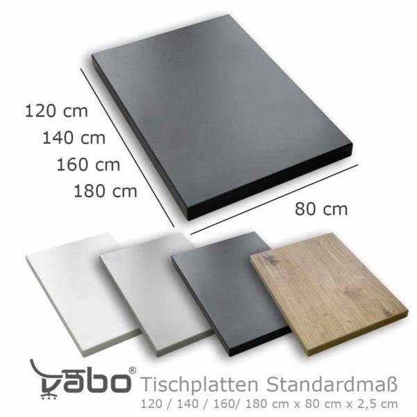 Tischplatten Standardmaß
